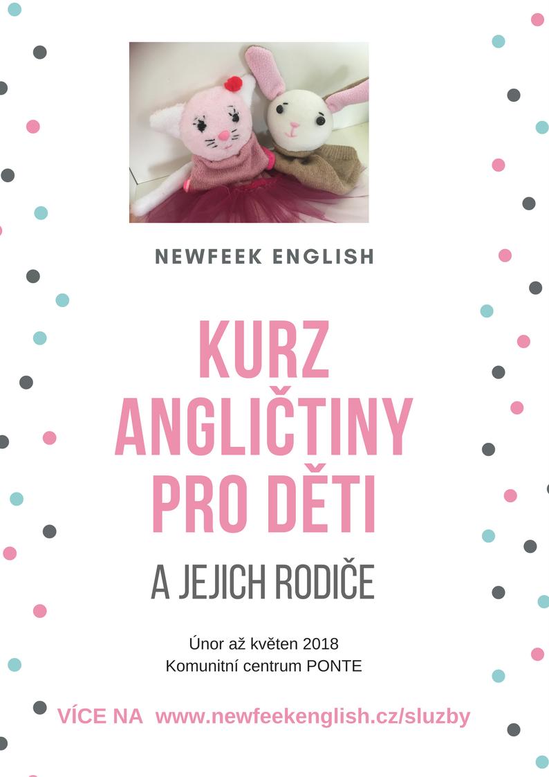 Kurzy angličtiny pro malé dětičky a jejich rodiče